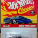 Mattel Hot Wheels Classic Series 2 Silver Anglia Panel Truck #8 of 30 Die Cast 1:64 Scale Car New