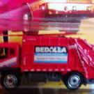 Mattel 2008 Matchbox Ready for Action City Action #46 Red Garbage Truck 1:64 Die Cast Car New