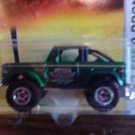 Mattel 2007 Matchbox Ready for Action MBX Metal #58 Green '72 Ford Bronco 1:64 Die Cast Car