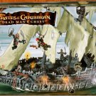 Mega Bloks - Pirates of the Caribbean 2 - Dead Man's Chest - The Flying Dutchman 1029 NEW