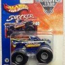 Mattel Hot Wheels 2002 Monster Jam Metal Collection #40 SHOCKER - 1:64 Scale Die Cast Truck New