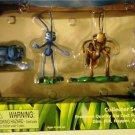 Disney Pixar's A Bugs Life Mini Die Cast Bugs Gift Set [Francis, Flik, Hopper, Heimlich & Dim] New