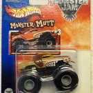 Mattel Hot Wheels 2002 Monster Jam #3 MONSTER MUTT Vehicle - 1:64 Scale Die Cast Truck New