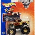 Mattel Hot Wheels 2002 Monster Jam #7 TAZ Vehicle - 1:64 Scale Die Cast Truck New