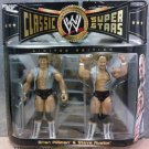 WWE Jakks Exclusive Classic Series 6 Hollywood Blonds Brian Pillman & Steve Austin Action Figures