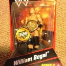 WWE Mattel Wrestling Series 4 William Regal Action Figure with Commemorative Championship Belt New