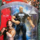 WWE Jakks Pacific Ruthless Aggression Series 8.5 A-Train Action Figure with Bar Bell accessory New