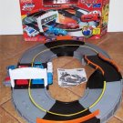 USED Fisher Price Shake 'n Go Speedway with Lightning McQueen & The King Cars Supercharged Playset