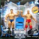 WWE Jakks Wrestlemania XX 20 Ric Flair & Randy Orton Action Figure Sunday March 4, 2004 New