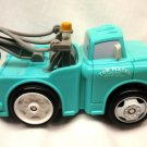 USED Fisher Price Shake 'n Go Disney Pixar's Cars The Movie: Light Blue Mater Tow Truck