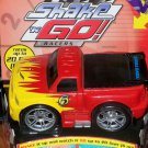 Fisher Price Shake 'n Go Racers! STREET TRUCK # 5 Race Vehicle with Sound & Action New