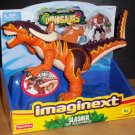 Fisher Price Imaginext Dinosaurs Slasher the Allosaurus Predator with Caveman New