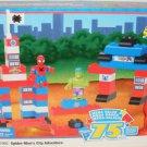 Mega Bloks ( 1992 ) Marvel Spider-Man & Friends City Adventure Super Set - 75 Pieces with Hulk New
