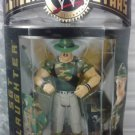 WWE Jakks Pacific Classic Superstars Series 2 Sgt. Slaughter [ Green Hat, Jacket Off Variant ] New