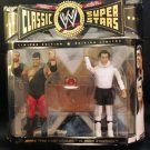 "WWE Jakks Pacific Classic Series 8 Jerry ""The King"" Lawler vs Andy Kaufman Action Figures NEW"