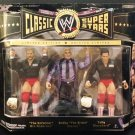 WWE Jakks Pacific Classic Superstars Arn Anderson, Bobby Heenan & Tully Blanchard Action Figures