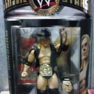 USED-Like New WWE Jakks Classic Series 11 Barry Windham Action Figure with 2 Championship Belts