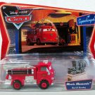 DISNEY PIXAR CARS  Supercharged Series - Movie Moments 2-Pack Firefighting Engine Red & Stanley NEW