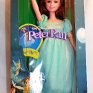 Mattel 1997 Walt Disney's Peter Pan Flying Wendy Doll New