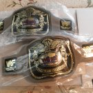 WWF WWE 1990 World Wrestling Federation World Tag Team Champions Set of 2 Foam Belts NEW