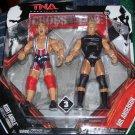 TNA Jakks Impact Wrestling Cross the Line Series 3 Kurt Angle & Mr. Anderson Action Figure 2-Pack