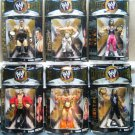 WWE Jakks Pacific Classic Superstars Series 1 Complete set of 6 Action Figures New