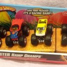 Hot Wheels Monster Jam Easter Ramp Champs Includes 4 Trucks Scale 1:64 Only at Target New
