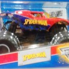 Mattel Hot Wheels 2013 Monster Jam 1:24 Scale SPIDER-MAN Die-Cast Truck NEW