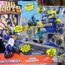 Mattel Matchbox Big Boots Police Station Launch Into Action Crime Defenders PlaySet New