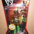WWE Mattel Wrestling Series 1 Kofi Kingston Action Figure with Commemorative Championship Belt New