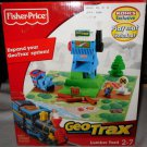 Fisher Price Geo Trax Transportation System Khol's Exclusive Lumber Yard Playset with Playmat NEW