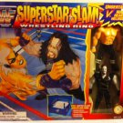 WWF Official SuperStar Slam Ring with UNDERTAKER vs Triple H Bendem Figures New