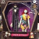 Disney Store Tim Burton's Nightmare Before Christmas Jack & Sally Doll Set NEW