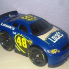 USED Fisher Price Shake 'n Go! Jimmie Johnson Nascar 48 Lowe's Race Car with Sound & Action
