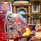 Mega Bloks 1911 The Amazing Spider-Man Daily Bugle Building with Spiderman & Doc Ock 200 pcs New