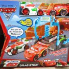 Shake 'n Go! Disney Pixar's Cars 2 Drag Strip Race Playset Lightning McQueen & Francesco Bernoulli