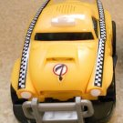 USED Fisher Price Shake 'n Go! Crash-Up Raceway Yellow Taxi # 7 - Race Car with Sound & Action