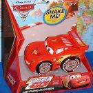 Shake 'n Go! Disney Pixar's Cars 2: Lightning McQueen #95 World Grand Prix Piston Cup Racer New