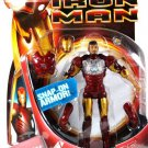 Hasbro Marvel Iron Man Movie Action Figure Iron Man PROTOTYPE [ with Snap on Armor ] New