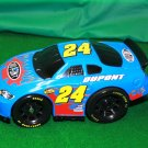 USED Fisher Price Shake 'n Go! Nascar's Jeff Gordon # 24 Blue Dupont Race Car with Sound & Action