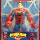 Marvel Spider Man & Friends Super Heroes Quick Change SpiderMan UNMASKED Action Figure NEW