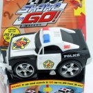 Fisher Price Shake 'n Go! Police Car # 6 - Race Car with Sound & Action New