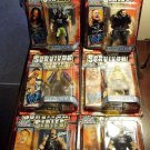 WWF WWE Jakks Survivor Series - Signature Series 4 Blue Edition - Complete Set 6 Action Figures