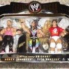 Signed WWE Jakks Classic Jim Neidhart, Marty Jannetty & Tito Santana Action Figure 3-Pack New