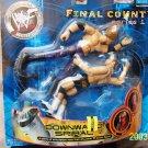 WWF WWE Jakks Pacific Final Count Series 1 Downward Spiral Billy Gunn vs Edge Action Figures New