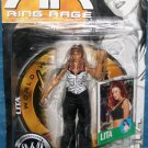 WWE Jakks Pacific Ruthless Aggression 22.5 Diva Lita Amy Dumas Action Figure Ring Rage NEW