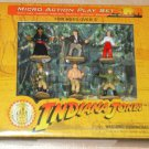 Indiana Jones Walt Disney Theme Parks Exclusive - Micro Action Play Set New