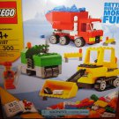 USED Lego Road Construction Set 6187 Buildable Playset 300 Pcs. Better Building More Fun