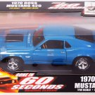 Ertl American Muscle Die Cast 1/18 Scale Gone In 60 Seconds 1970 Ford Mustang Boss 429 Grabber Blue