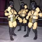 USED WWE Jakks Classic Superstars Limited Edition DEMOLITION  AX SMASH AND CRUSH Action Figures